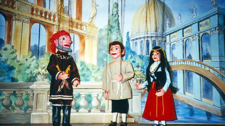 Der Schneider von Venedig Marionettentheater
