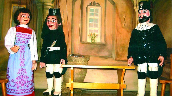 Die Sage von Sankt Anna Marionettentheater