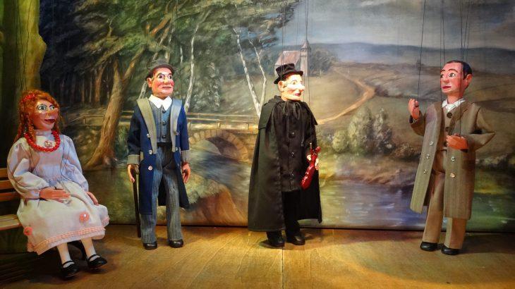 Nur ein Musikant Marionettentheater