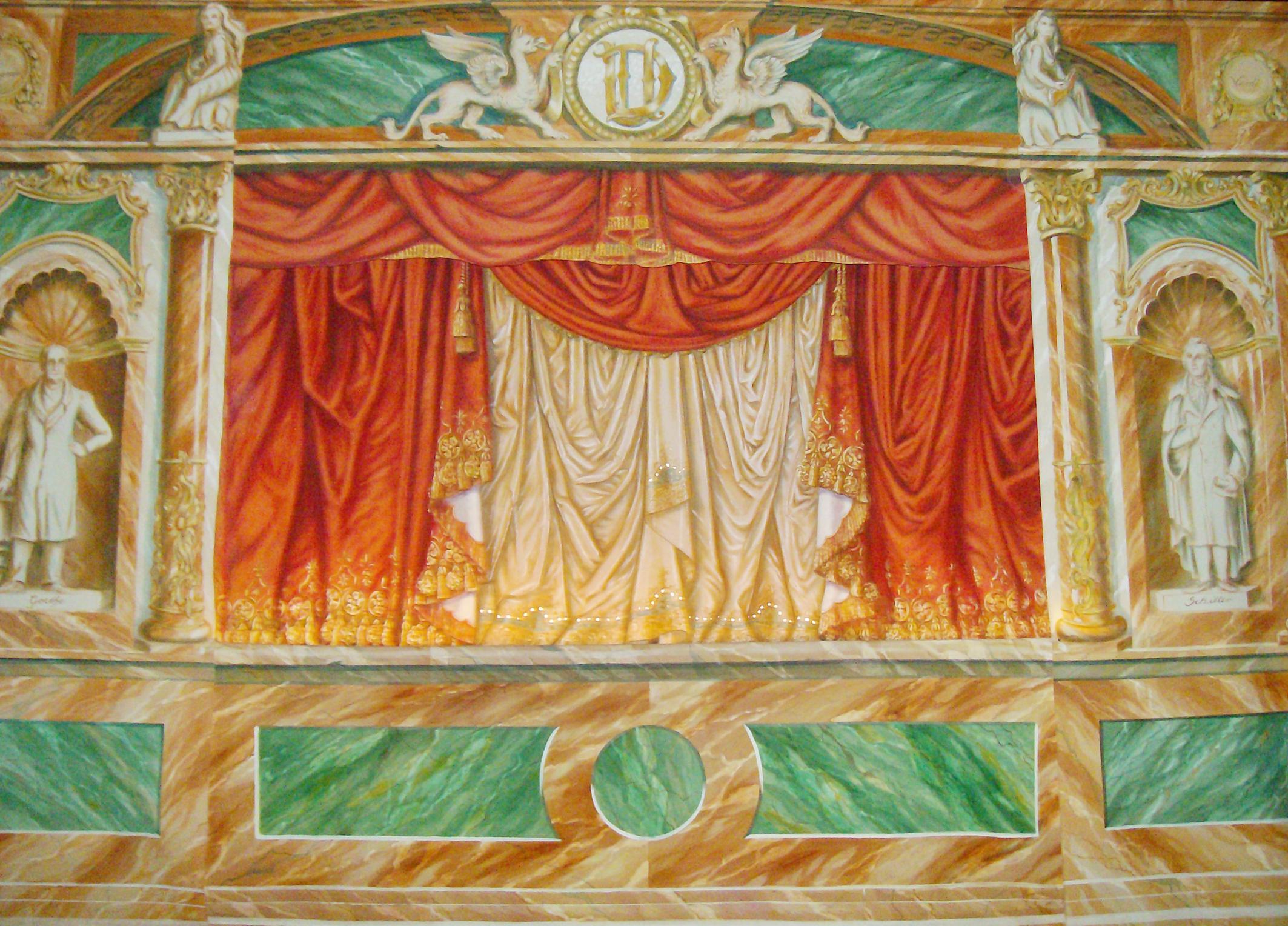 Proszenium arionettentheater Dombrowsky