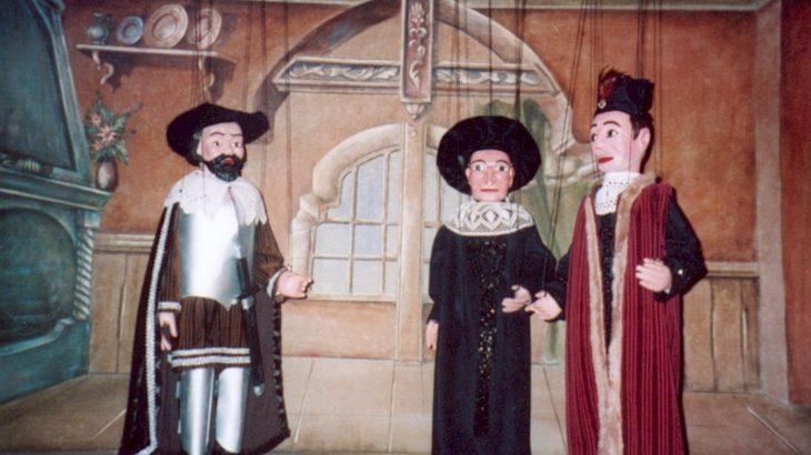 Der saechsische Prinzenraub Marionettentheater