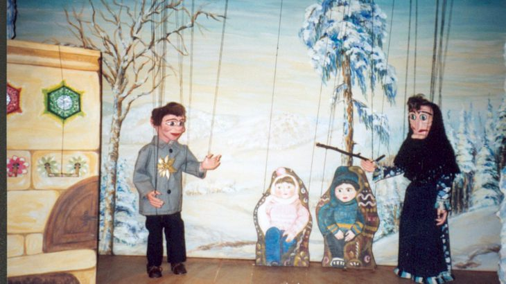 Peter und Bärbel suchen den Weihnachtsmann Weihnachtstheater Marionetten